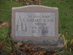 Margaret M. <I>King</I> Norbom