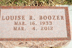 "Louise R ""Lou"" Boozer"