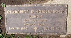 Clarence Dickson Hornberger