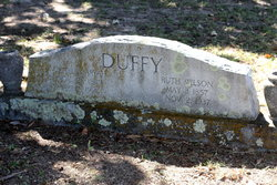Ruth <I>Wilson</I> Duffy