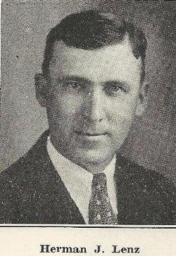 Herman J Lenz 1884 1960 Find A Grave Memorial