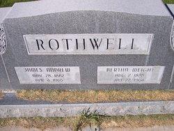 Bertha <I>Weight</I> Rothwell