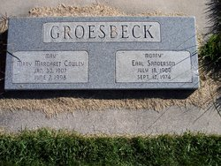 """Earl Sanderson """"Monty"""" Groesbeck"""