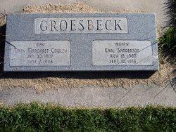 """Mary Margaret """"May"""" <I>Cowley</I> Groesbeck"""