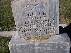 John B Zabriskie