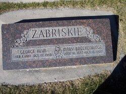 Mary Magdalene <I>Breckenridge</I> Zabriskie