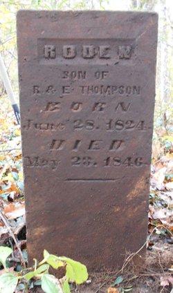 Roden Thompson