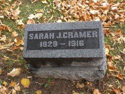 Sarah Jane <I>Sweetzer</I> Cramer