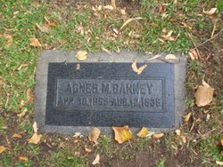 Agnes Montgomery <I>Robinson</I> Barney