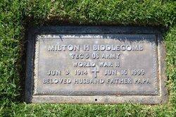 Milton H Biddlecomb