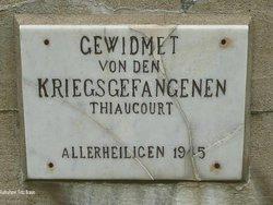 Thiaucourt German Military Cemetery