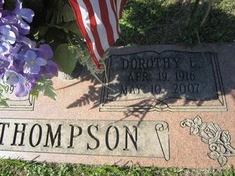 Dorothy L Thompson