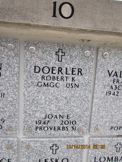 Joan Eleanor <I>Gordon</I> Doerler