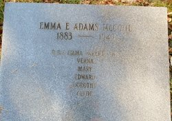Emma <I>Adams</I> McCool