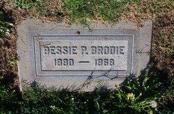 Bessie Bebe <I>Brodie</I> Brodie