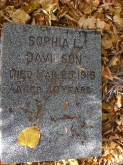 Sofia Lavice <I>Doff</I> Davidson