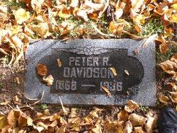 Peter R Davidson