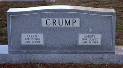 Mary Ellen <I>Luckey</I> Crump