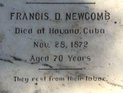 Lieut Francis Dana Newcomb