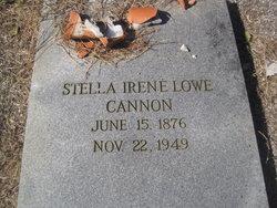 Stella Irene <I>Lowe</I> Cannon
