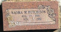 Naoma Mae <I>Fyfe</I> Hutchison