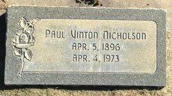 Paul Vinton Nicholson