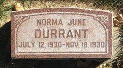 Norma June Durrant