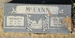 """Francis Pearley """"Frank"""" Mccann"""