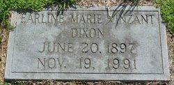 Earline Marie <I>Vinzant</I> Dixon