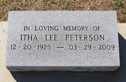Itha Lee Peterson