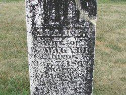 Mary <I>Martz</I> Wagner