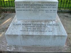 Lieut Claude Norman Champion de Crespigny