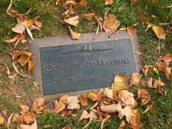 Catherine <I>Henderson</I> Marshall