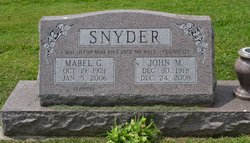 John Melvin Snyder, Jr