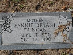 Fannie <I>Bryant</I> Duncan