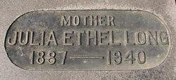 Julia Ethel <I>Pursley</I> Long