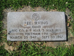 PFC Lee Irving