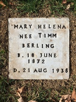 Mary Helen <I>Timm</I> Berling