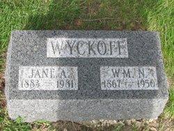 Jane <I>Aspinwall</I> Wyckoff