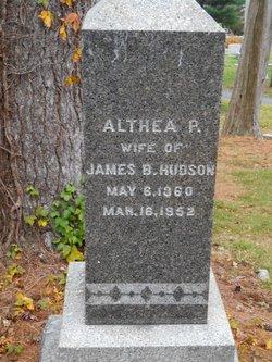 Althea P. Hudson