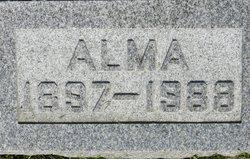 Alma Caroline Burmeister