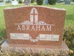 """Juliette """"Julie"""" <I>Sear</I> Abraham"""