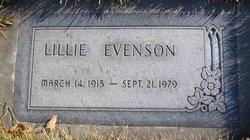 Lillie Evenson