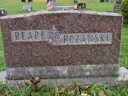 Mary Ann R <I>Reape</I> Rozanski