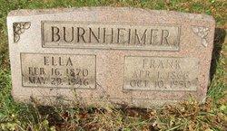 "Benjamin Franklin ""Frank"" Burnheimer"