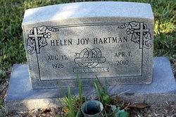 Helen Joy <I>Bartlett</I> Hartman
