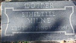 Ethel Emmiline <I>Lee</I> Milne