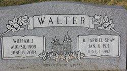 Birdie LaPriel <I>Shaw</I> Walter
