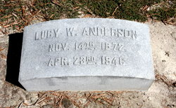 Lucy J. Clark <I>Whitehead</I> Anderson