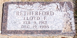 Lloyd Franklin Retherford
